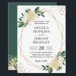 """Modern Geometric Frame Nature Green Floral Wedding Invitation<br><div class=""""desc"""">Modern Geometric Frame Nature Green Floral Wedding Invitation. (1) For further customization, please click the """"customize further"""" link and use our design tool to modify this template. (2) If you prefer Thicker papers / Matte Finish, you may consider to choose the Matte Paper Type. (3) If you need help or...</div>"""