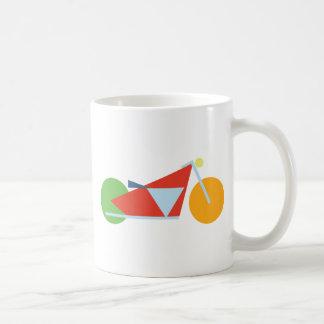 Modern Geometric Motorcycle Coffee Mug