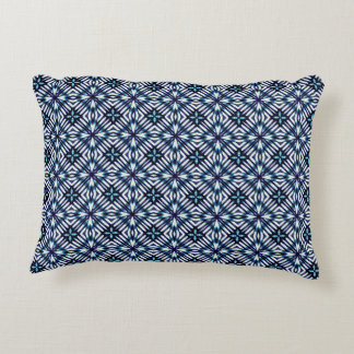 Modern Geometric Pattern Accent Pillow