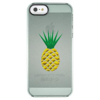 Modern Geometric Pineapple Clear iPhone SE/5/5s Case