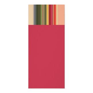 Modern Geometric Stripe Card
