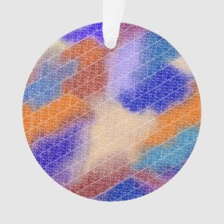 Modern geometrical pastel watercolor pattern