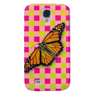 Modern Gingham  Monarch iPhone 3 Case