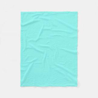modern girly aqua  robin egg blue tiffany blue fleece blanket