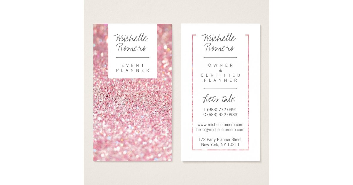 Event Planner Business Cards & Templates | Zazzle