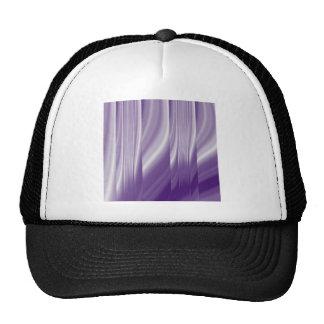 modern girly grey pattern abstract purple trucker hat