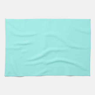 Modern girly turquoise aqua chic Tiffany Blue Kitchen Towels