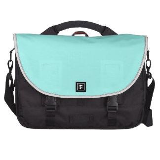 Modern girly turquoise aqua chic Tiffany Blue Commuter Bag