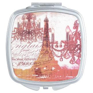 modern girly vintage chandelier paris eiffel tower travel mirrors