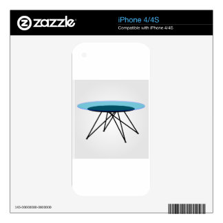 Modern glass coffee table decals for the iPhone 4