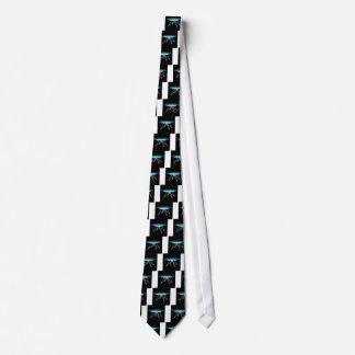 Modern glass coffee table tie