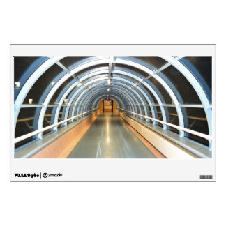 Modern Glass Tunnel Wall Decal