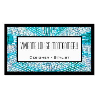 Modern Glitz Professional Designer Business Card Business Cards