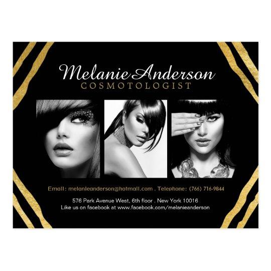 Free Makeup Artist Comp Card Template