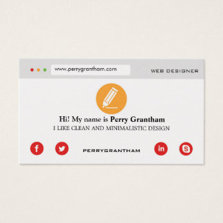 Modern Gold Business Card template