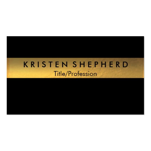 3 000 Gold Foil Business Cards and Gold Foil Business