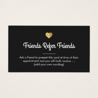 Customer Referral Business Cards & Templates | Zazzle