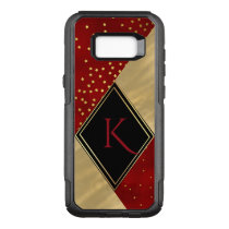 Modern Gold Patch Work Otterbox Samsung S8 Case