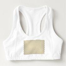 modern,gold,silver,diagonal,stripes,pattern,trendy sports bra