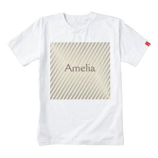modern,gold,silver,diagonal,stripes,pattern,trendy zazzle HEART T-Shirt