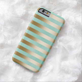 Modern Gold Stripes iPhone 6/6S Case Barely There iPhone 6 Case