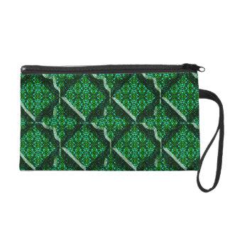 Modern Gothic Design Bagettes Wristlet Bag
