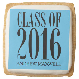Modern Grad Class of 2016 Personalized Cookie