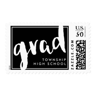 Modern Grad Custom Color Postage