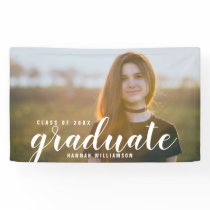Modern Grad Photo Class of 2018 Graduation Sign