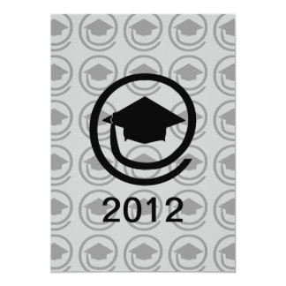 Modern Graduation Celebration Card