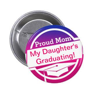 Modern Graduation Pinback Button