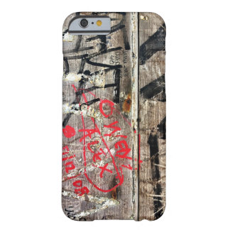 Modern Graffiti Decay on Wood Photo Barely There iPhone 6 Case