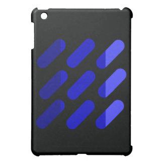 Modern grapgic art Black and Blue Case For The iPad Mini