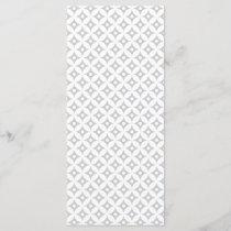 Modern Gray and White Circle Polka Dots Pattern