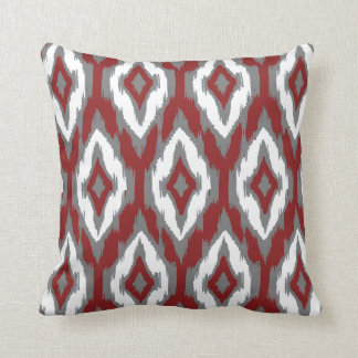 modern red decorative pillows