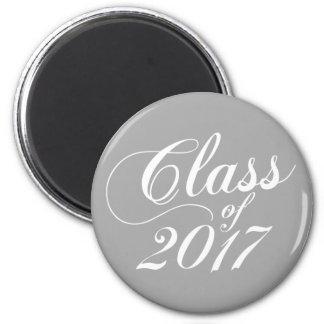 Modern Gray | Graduation Magnet