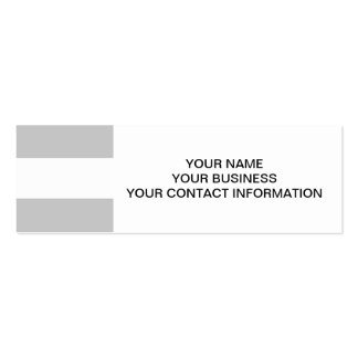 Modern Gray White Stripes Pattern Business Card Templates