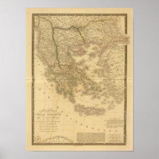 Modern Greece Poster