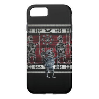 Modern Greek Black Figure iPhone 7 Case