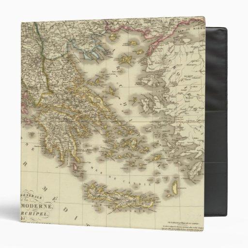 Modern Greek Islands, Albania, Macedonia Binder