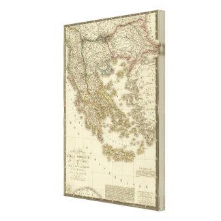 Modern Greek Islands, Albania, Macedonia Canvas Print