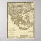 Modern Greek Islands, Albania, Macedonia Poster