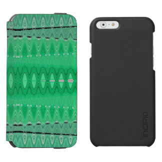Modern Green Abstract iPhone 6/6s Wallet Case