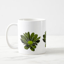 Modern Green Chrysanthemums Mug