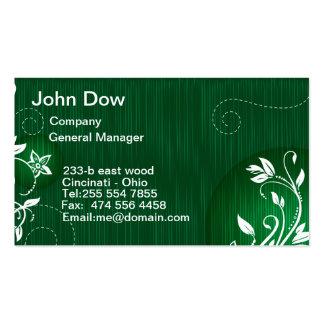 Modern Green floral VOL1 Business Card