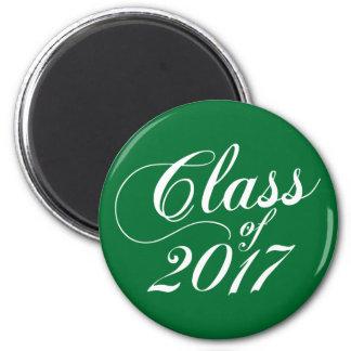 Modern Green | Graduation Magnet