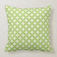 Modern Green Pattern Pillow