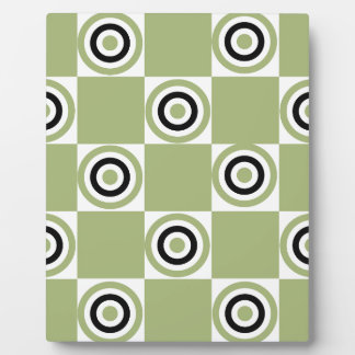 Modern Green Targets Plaque