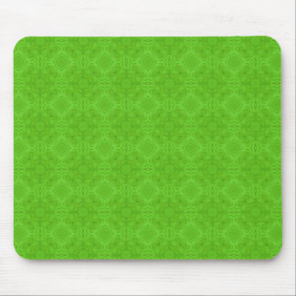 Modern Green wood pattern Mouse Pad