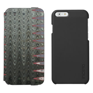 Modern Grey Abstract iPhone 6/6s Wallet Case